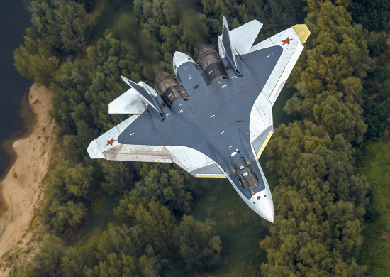 «The best fighter jet inRussian history»: T-50 caused areal furor atthe MAKS-2017 Air Show