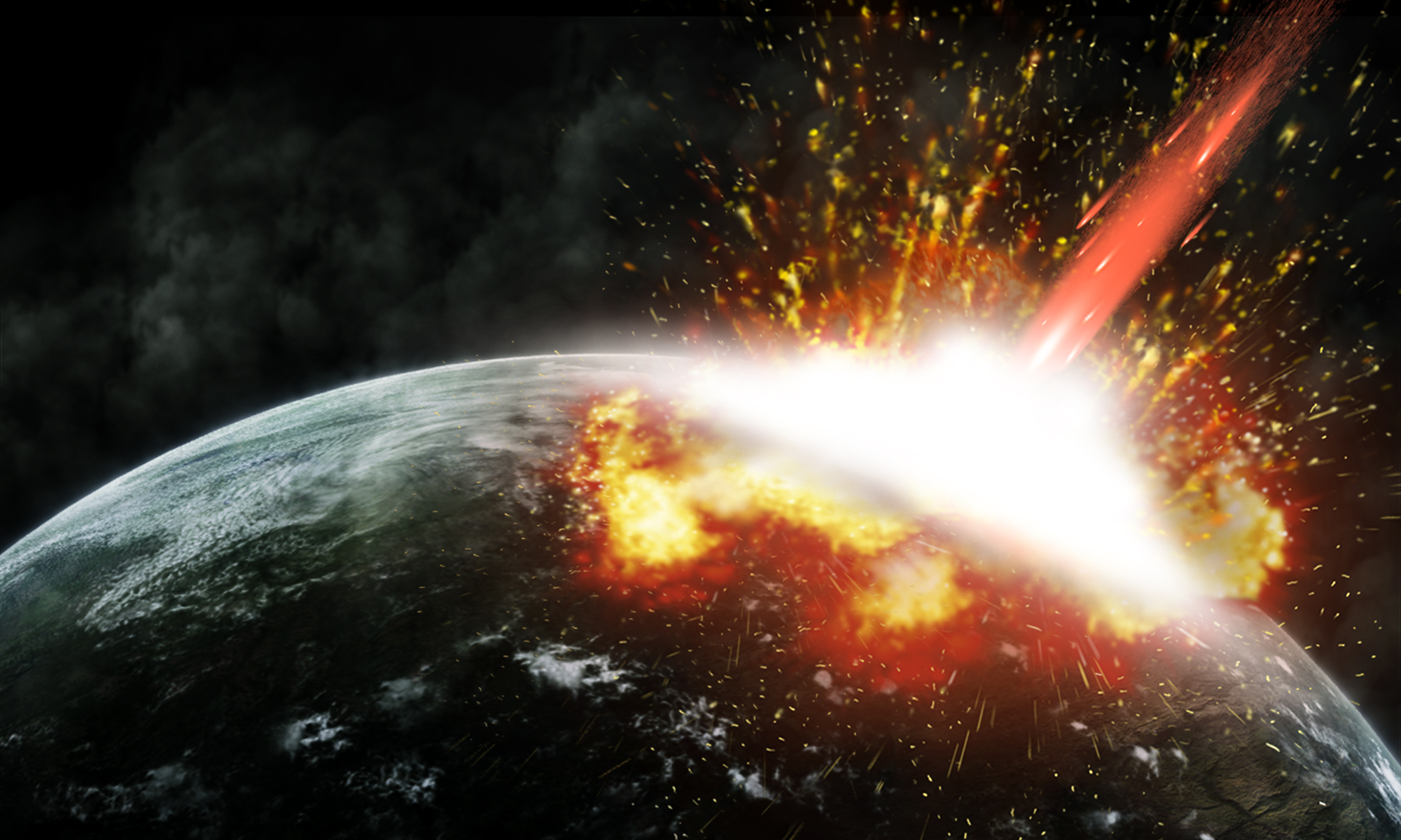 asteroids earth collision - HD 1536×922